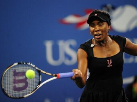 Venus Williams, campeona del US Open en 2000 y 2001, alegó una fa...