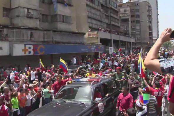 El anuncio fue realizado por el vicepresidente Nicolás Maduro desde el H...