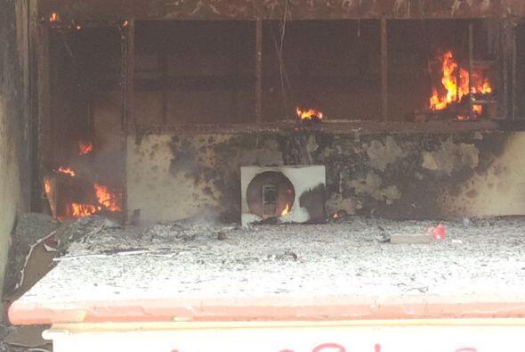 Una parte del inmueble quedó totalmente destruida. Foto: Guadalupe Álvarez.