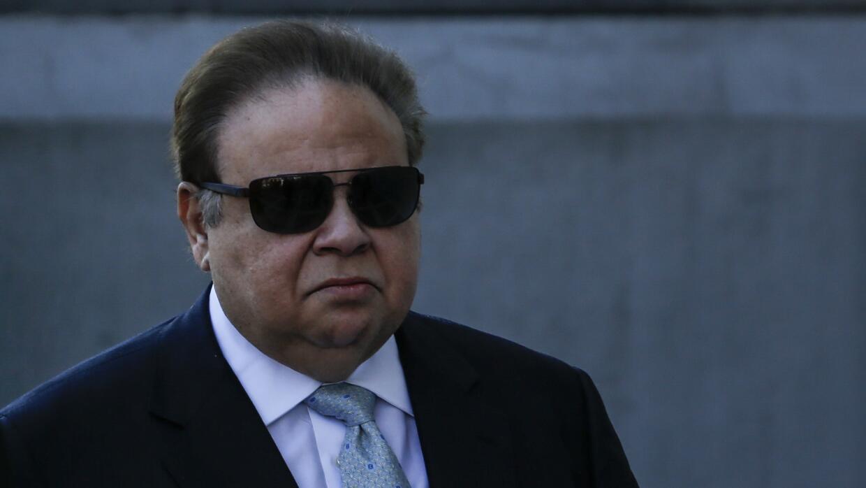El Dr. Salomón Melgen llegando a la Corte Federal para ser imputado de c...