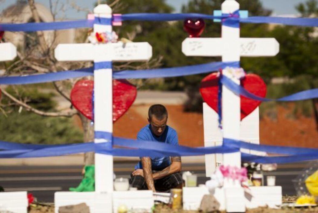 El presunto autor de la masacre, James Holmes, de 25 años, fue arrestado...