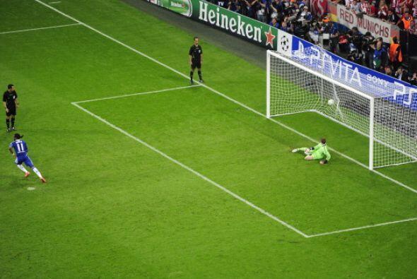 Balón a las redes y el Chelsea se proclamaba campeón.