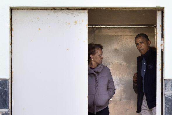Esta visita fue su manera de homenajear al expresidente sudafricano Nels...