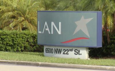 Sede de Lan Cargo en Miami.