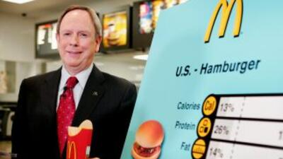 Jim Skinner, de 67 años, pondrá fin a una carrera de 41 años en McDonald's.
