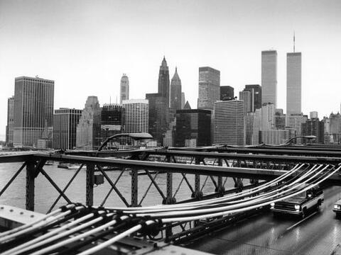 El puente de Brooklyn, uno de los principales símbolos de Nueva Y...
