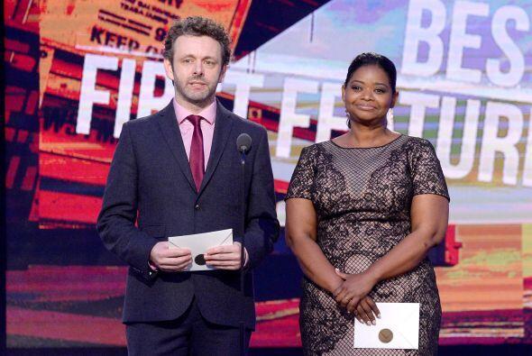Michael Sheen y Octavia Spencer. Mira aquí los videos más...