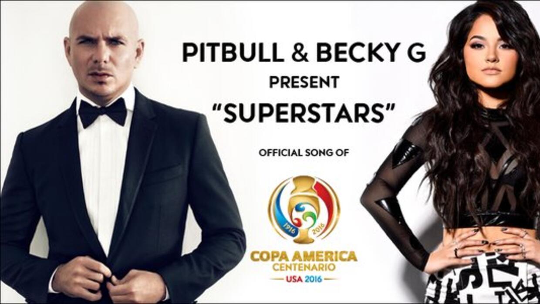 Escucha la canción de la Copa América Centenario con Pitbull y Becky G