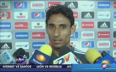 Fernando Arce: 'No soy goleador'
