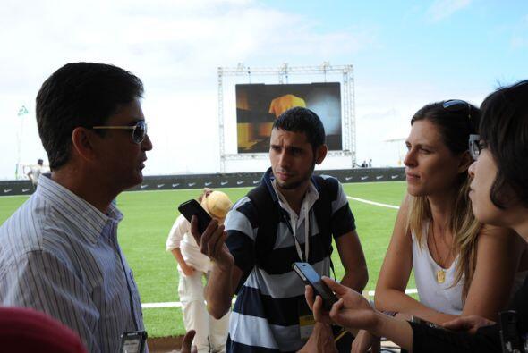 Bebeto comentó que la Copa del Mundo en Brasil volverá a dirimirse entre...