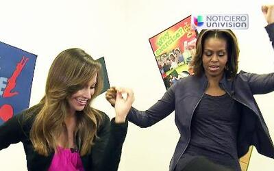 Satcha Pretto entrenó a Michelle Obama