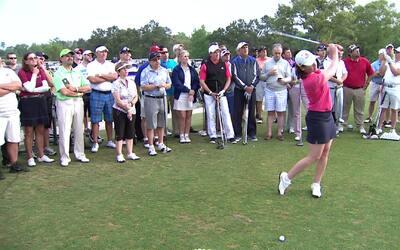 Lorena Ochoa ayuda a quienes sueñan con jugar golf