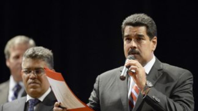 """Maduro justificó esa decisión con el argumento de que """"la independencia..."""