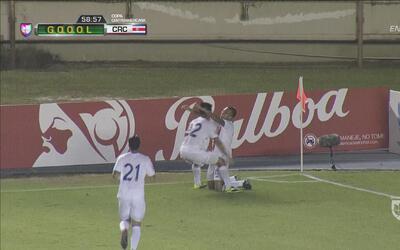 Calvo sacó una centella del botín y fulminó a Escober en el 1-1