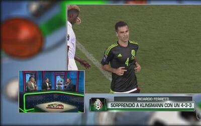Ferretti sorprendió a Klinsmann con un 4-3-3