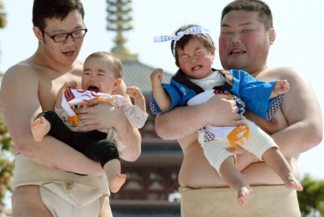 Para ser parte de esta lucha, los bebés no deben de rebasar el año de na...