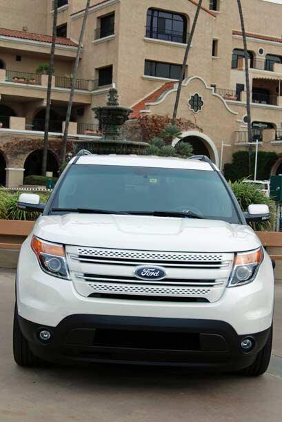 Ford hizo grandes cambios en el modelo 2011 de la SUV Explorer.