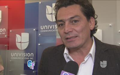 José M. Figueroa se emocionó al ver la presentación de la nueva serie so...