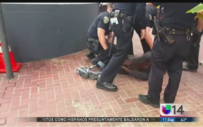 Video policial causa indignación en San Francisco