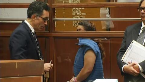 Verónica Aguilar se declara no culpable de la muerte de su hijo Y...