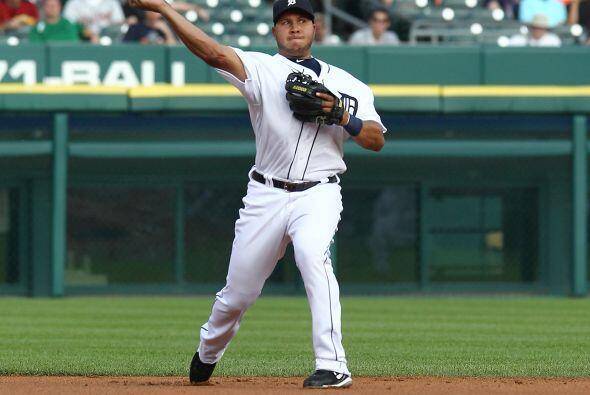 SS. Jhonny Peralta. Tigres de Detroit. Peralta bateó para .381 con un pa...