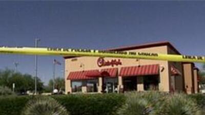 Restaurante donde ocurrio el incidente