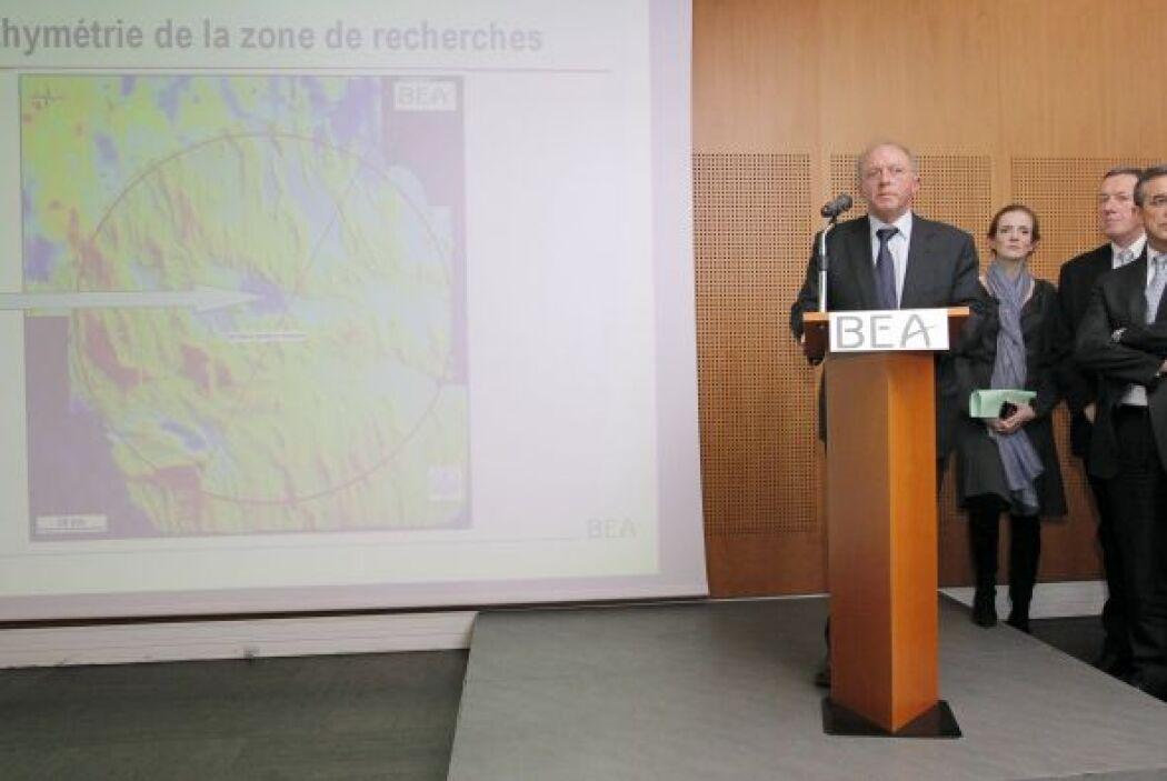 Jean Paul Troadec, director del BEA, fue el encargado de mostrar en conf...