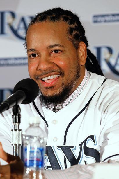 En enero de 2011, Manny firmó un contrató con los Rays por un año y dos...