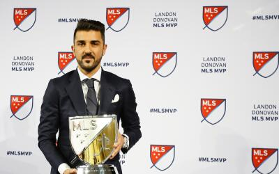 David Villa nombrado MVP de la MLS 2016
