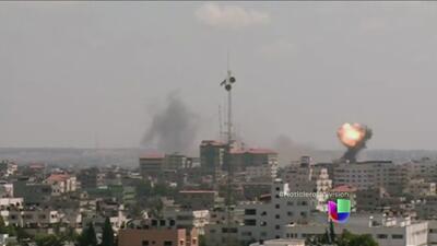 Se reanudan los bombardeos en la Franja de Gaza