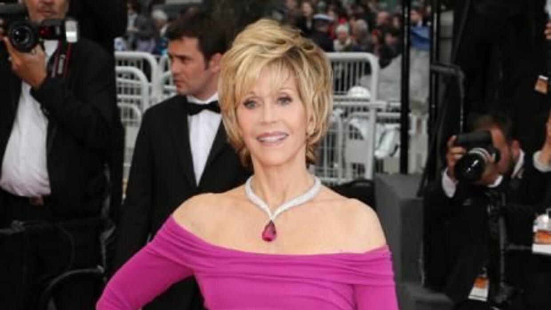 La actriz Jane Fonda (77) quiere romper los estereotipos.
