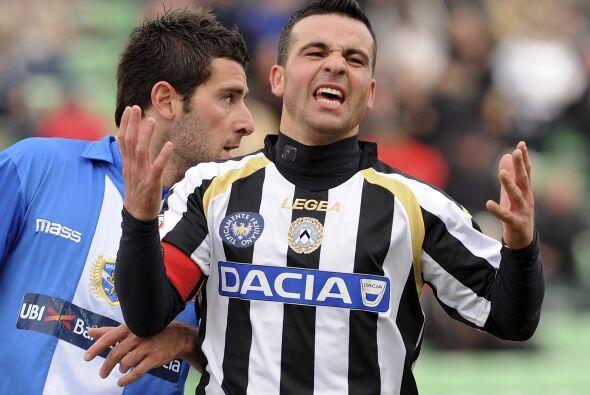 Por su parte, el Udinese tampoco rompió la paridad para otra igualada si...