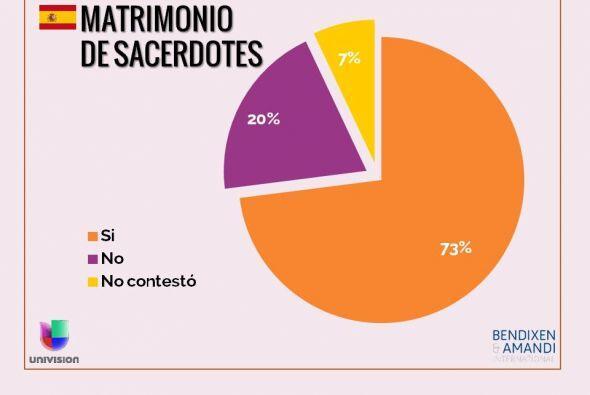 ¿Cree que se debe permitir que los sacerdotes católicos se...