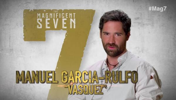 """Manuel García Rulfo hace de las suyas en """"The Magnificent Seven"""""""