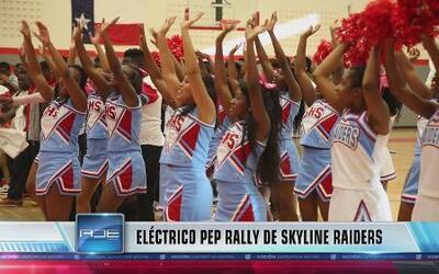 Pep Rally Skyline Raiders