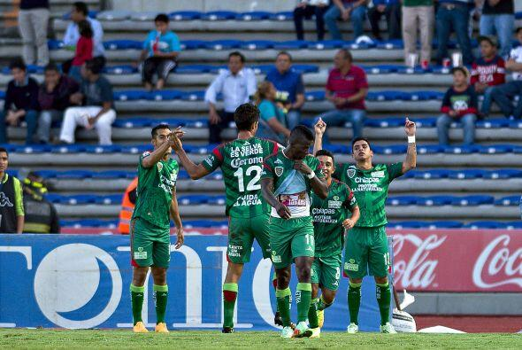 Chiapas que se encuentra en quinto lugar con 25 puntos, enfrentar&aacute...