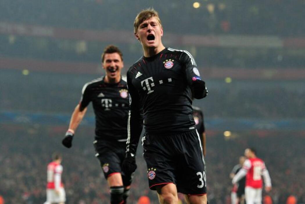 El joven Toni Kroos abría el marcador y enfriaba el Emirates Arena.