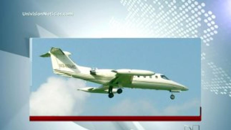 El avión ejecutivo donde volaba Jenni Rivera