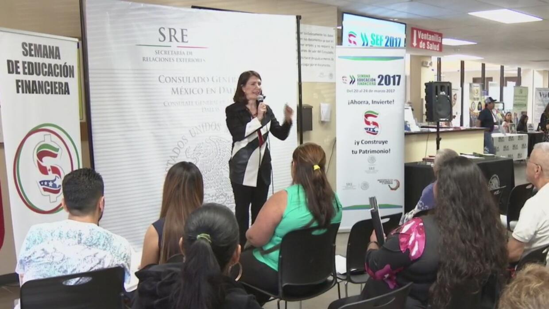 Comenzó la semana de educación financiera que organiza el consulado mexi...