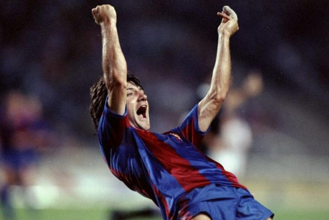 Con goles de Amor y Salinas, el Barca de Johan Cruyff se llevó también e...