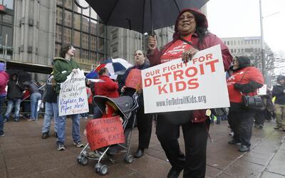 El conflicto escolar en Detroit seguirá a pesar del acuerdo.