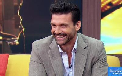 Frank Grillo de 'The Purge: Anarchy' visitó Despierta América