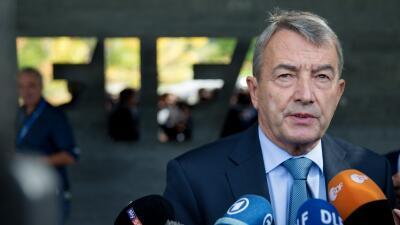 Wolfgang Niersbach, presidente del Comité Ejecutivo de FIFA