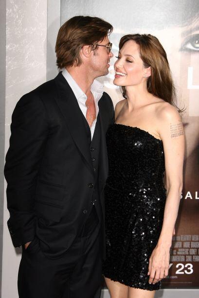 Angelina Jolie y Brad Pitt han logrado mantenerse juntos hasta hoy.  Mir...