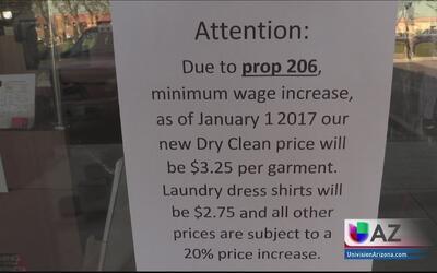 Negocios anuncian aumento en sus precios ante el incremento del salario...