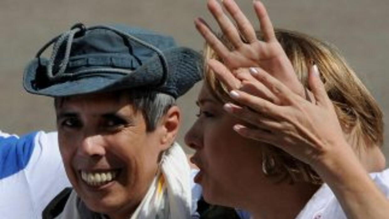 Alan Jara, es uno de los seis ex rehenes de las FARC exigieron una indem...