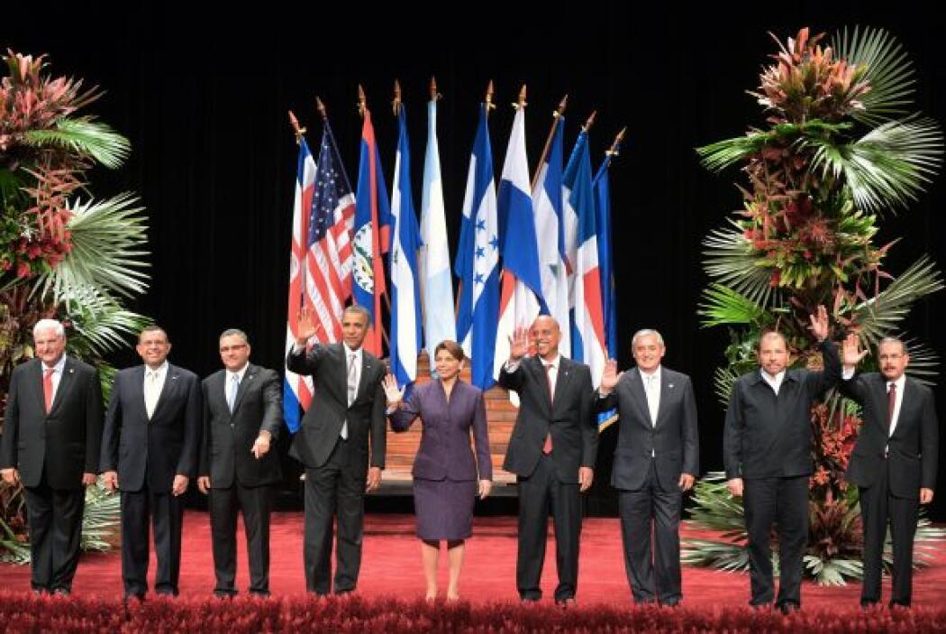 Durante su reunión con Chinchilla, el presidente estadounidense se compr...