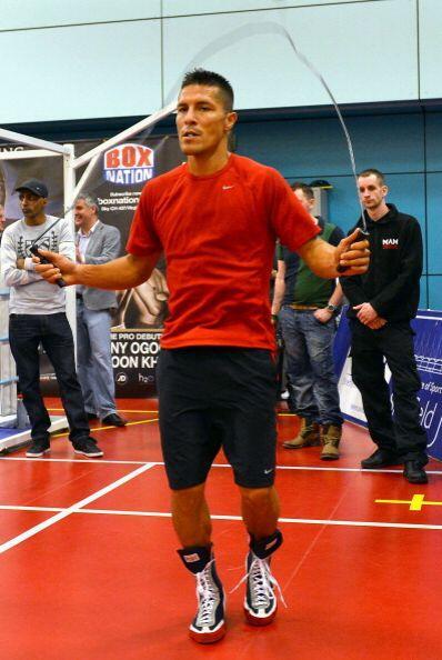 Díaz ya ha sido campeón mundial ligero de la FIB y cuenta con una hoja d...