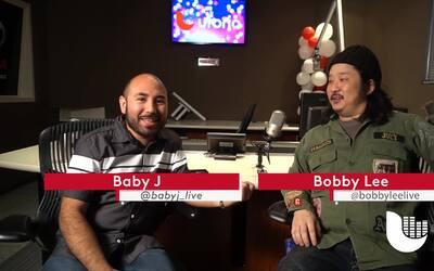 Bobby Lee Stops By KXTN And Chats With Baby J