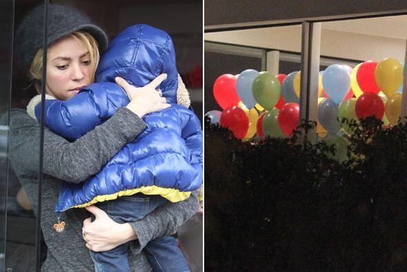 El bebé de Shakira y Gerard Piqué cumplió un añito. Mira aquí los videos...